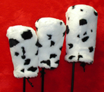 3 Cow Head Covers